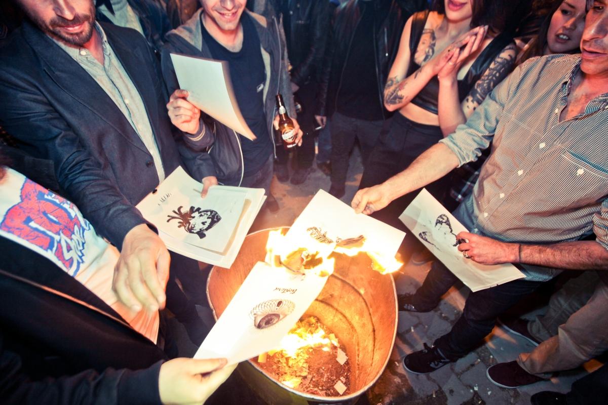 Burning Ink Istanbul