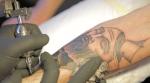 Tatouage d'après l'œuvre de Vince Pages (encré par l'artiste lui-même)